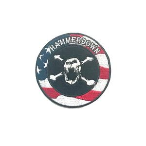Official Hammerdown Patriotic Sew-On Patch
